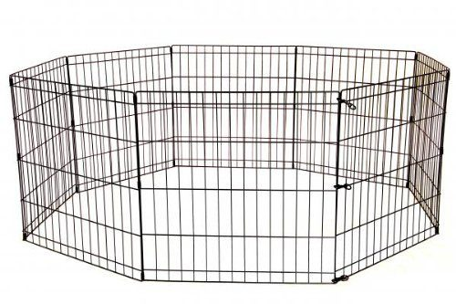 Wire Dog Playpen